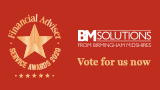 Vote for BM Solutions in the 2020 Financial Adviser Service Awards