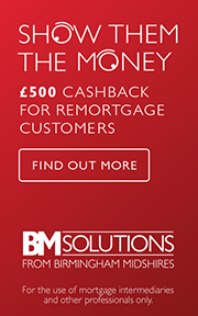 We're offering £500 cashback to support Buy To Let remortgage clients.