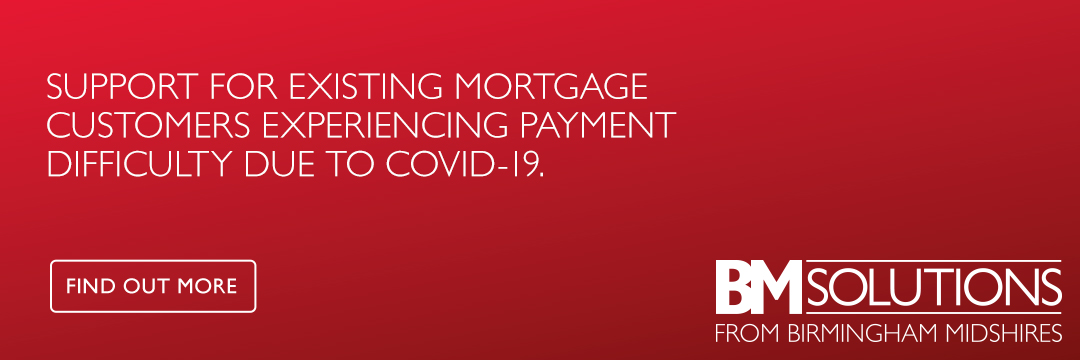 Support for existing mortgage customers experiencing payment difficulty due to Covid-19